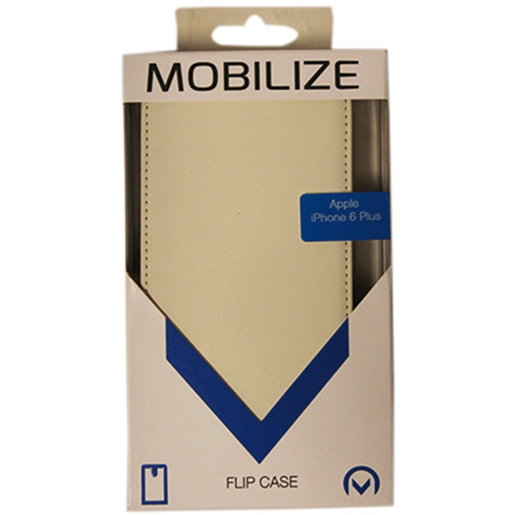 Mobilize Ultra Slim Flip Case Apple iPhone 6 Plus Wit