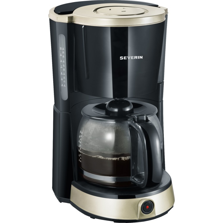 Severin KA4490 Koffiezetapparaat - zwart/titaan