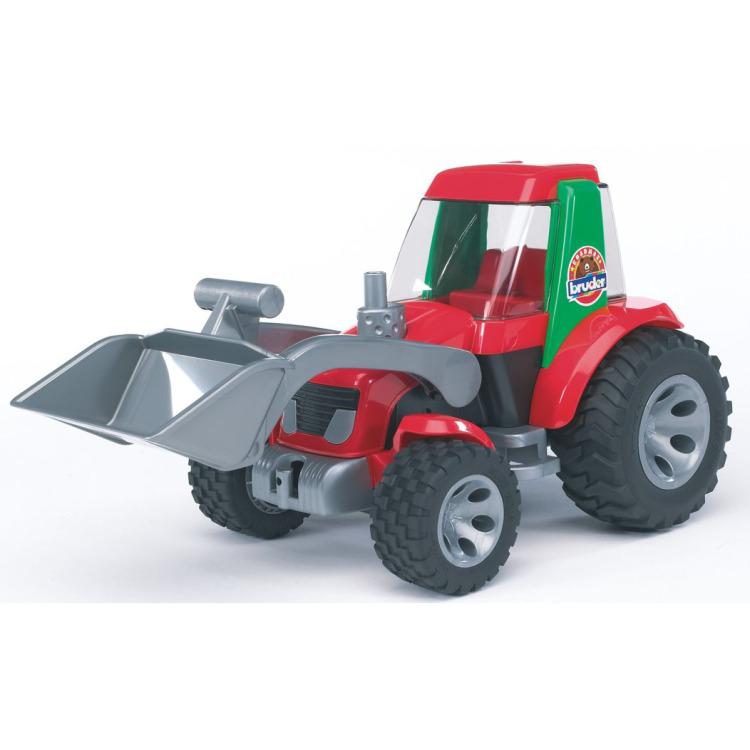 Image of Bruder - tractor met voorlader