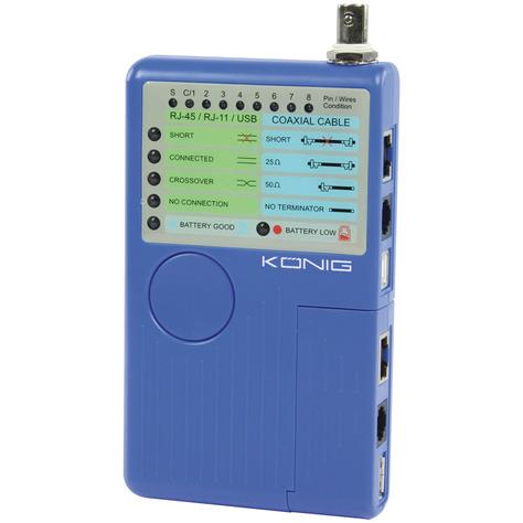 Multifunctionele intelligente netwerk-kabeltester