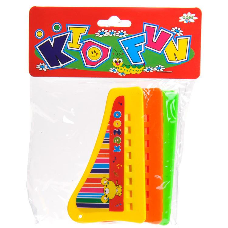 Kid Fun harmonica 3 stuks