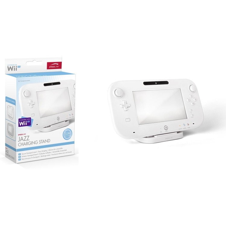Speedlink JAZZ Oplaad Stand Wit Wii U