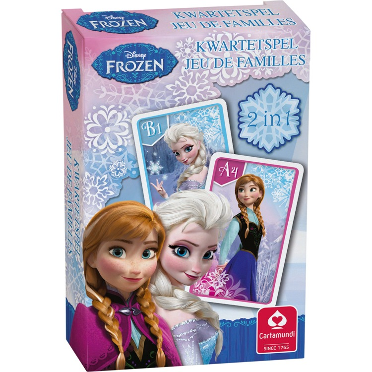 Image of Disney Frozen Kwartetspel