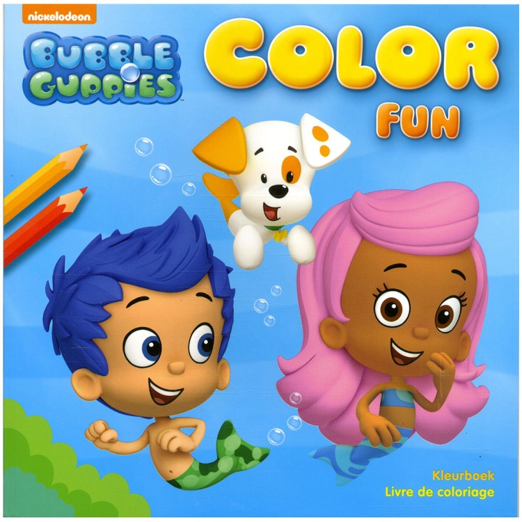 Image of Bubble Guppies Color Fun