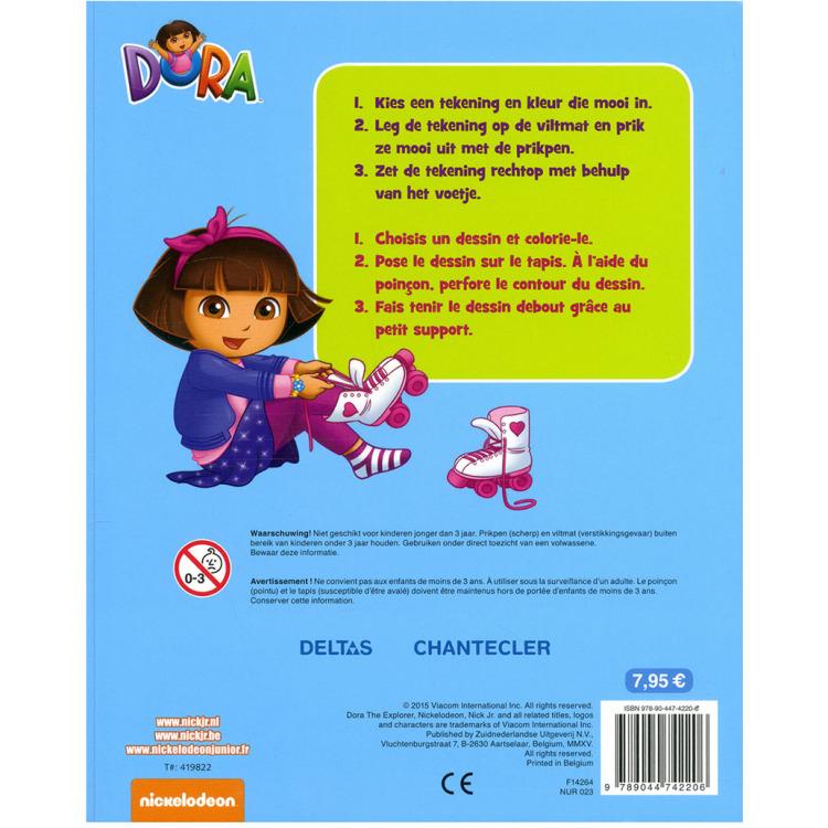 Dora Prikblok met Prikpen en Mat