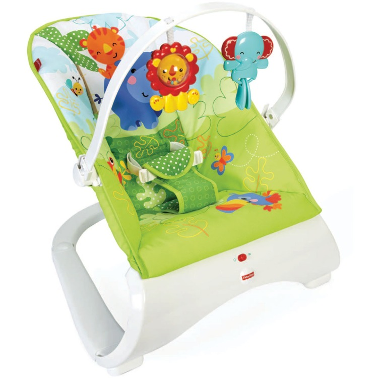 Image of Fisher-Price Comfort Curve Wippe