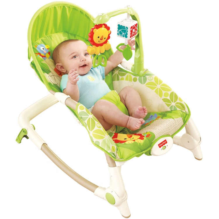 Image of Fisher-Price 2-in-1 Kompakt-Schaukelsitz