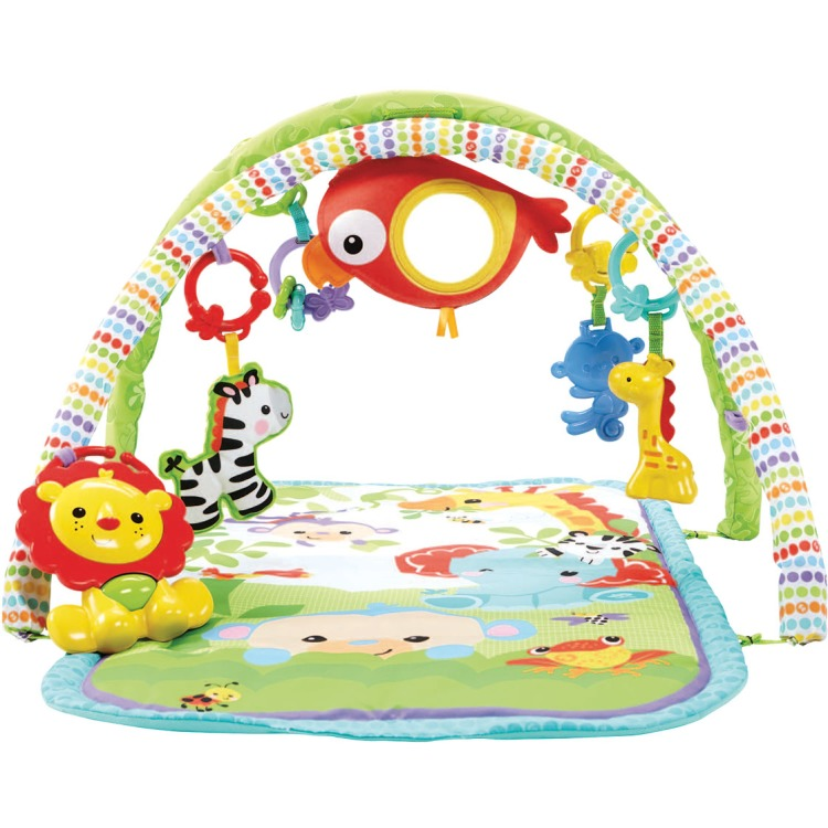 Image of Fisher-Price 3-in-1 muzikale activiteiten gym speelset