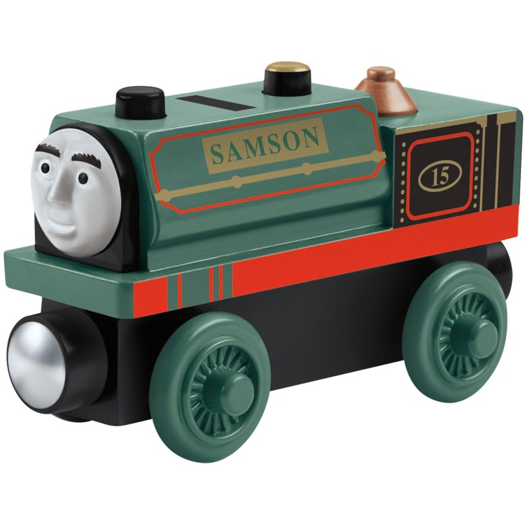 Image of Fisher Price Thomas de Trein Hout - Samson