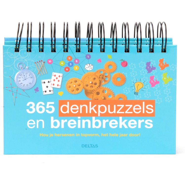 Image of 365 Denkpuzzels En Breinbrekers.