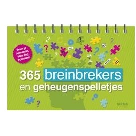 Image of 365 Breinbrekers En Geheugenspelletjes
