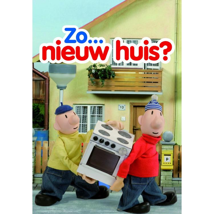 Image of Wenskaart Nieuw Huis