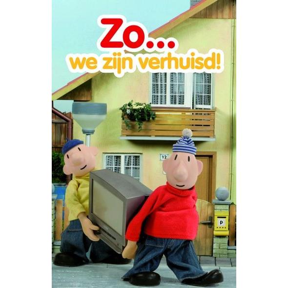 Image of Verhuiskaarten, 6 Stuks