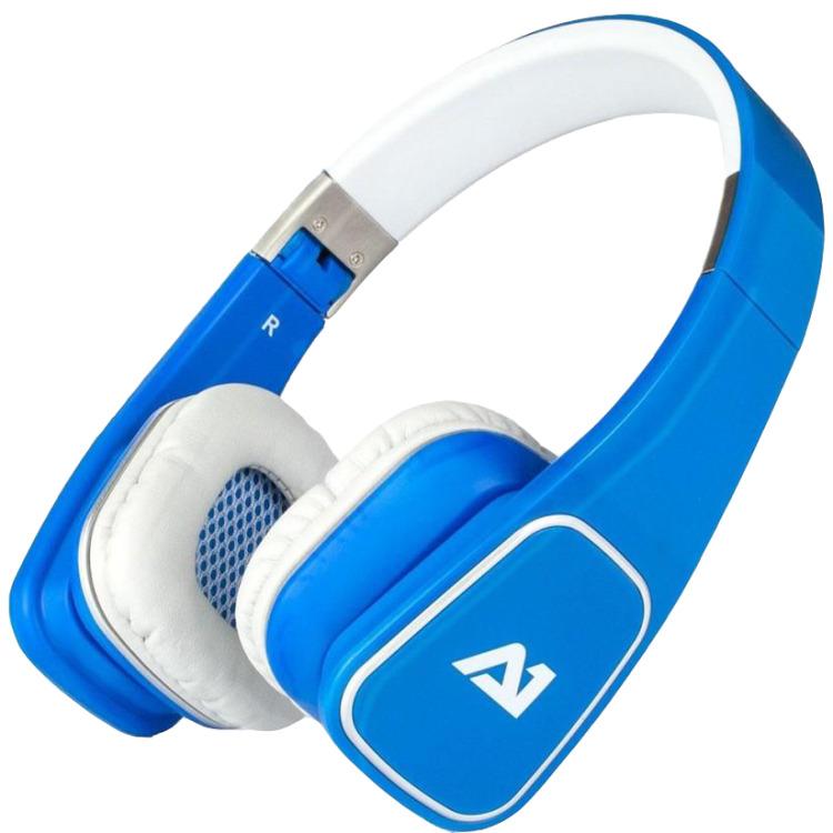 Attitude One Almaz Wired Stereo Headphones - Blauw (PC + MAC + Mobile)