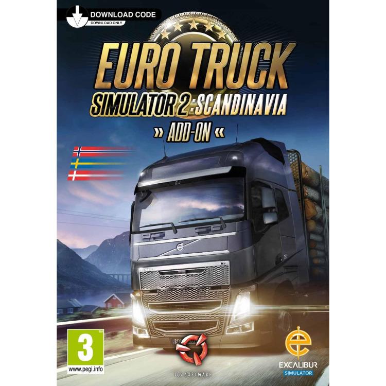 Euro Truck Simulator 2 (Scandinavia Add-on)