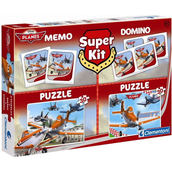 Planes Super Kit 4 in 1