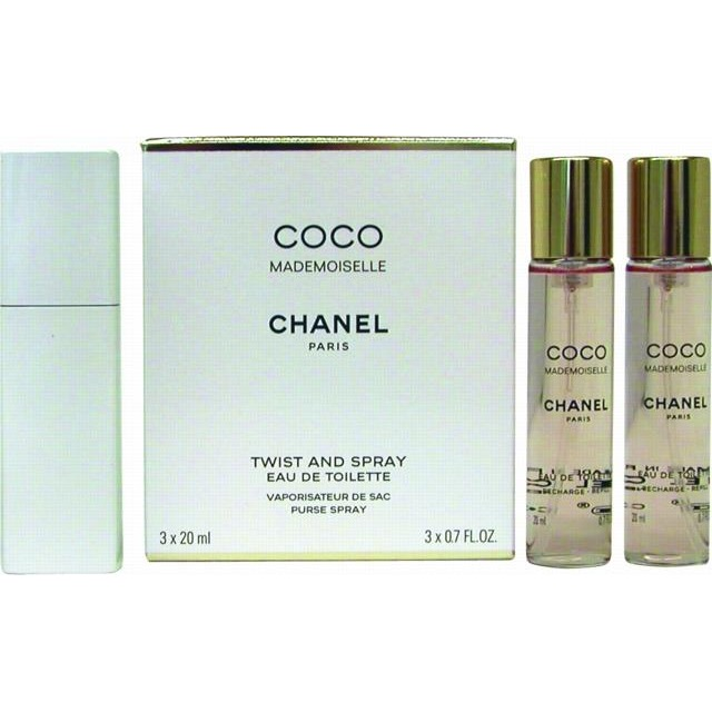 Chanel Coco Mademoiselle Twist And Spray Eau De Toilette Geschenkset Vrouw 3x20ml