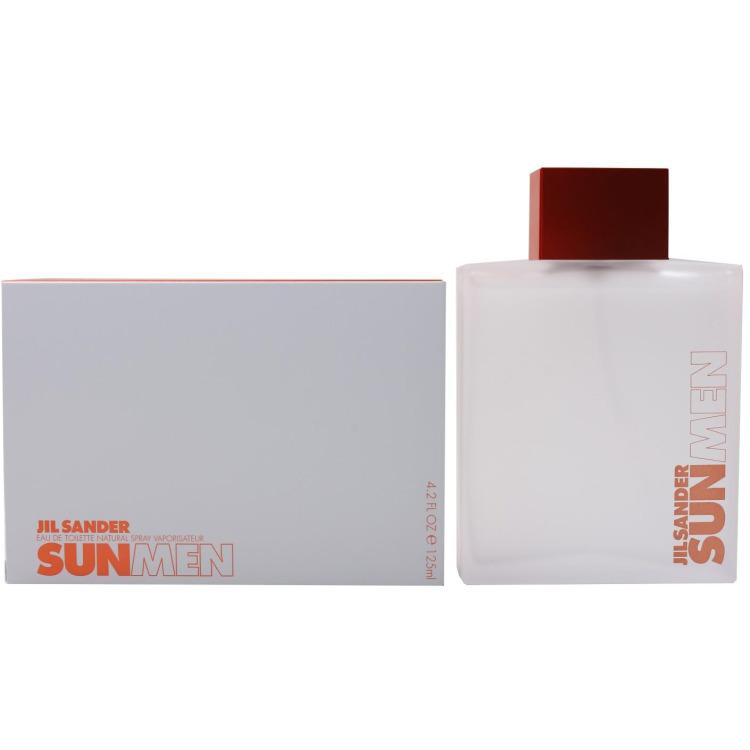 J.sander Sun Man Eau De Toilette Natural Spray 125ml