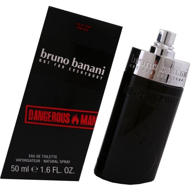 Image of Bruno Banani Dangerous Man edt spray - 50ml