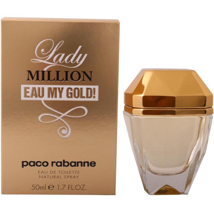 Paco Rabanne Lady Million Eau My Gold Eau De Toilette 50ml