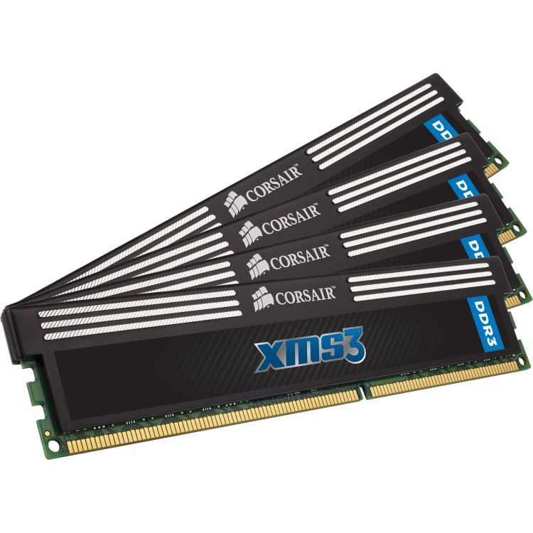 DDR3 1600 32GB 4x240 Dimm Unbuffered11-11-11-30 1.5V XMS3 with Classic Heat Spreader - Core i7 Core i5 and Core 2