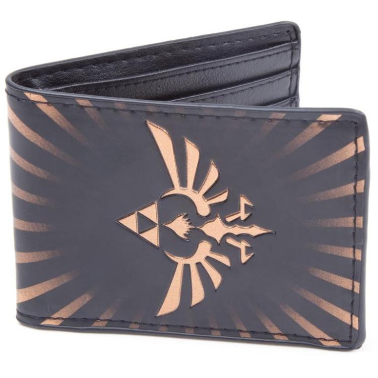 Nintendo Zelda Bird Wallet (Zwart)
