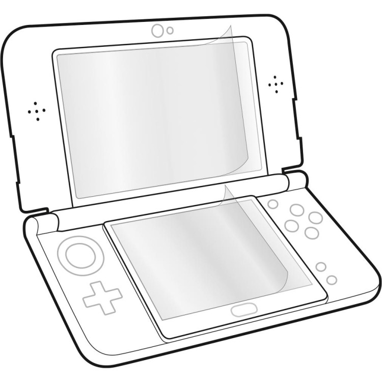 Speed-Link Speedlink, GLANCE Screen Protection Kit for New 3DS (SL-520200)