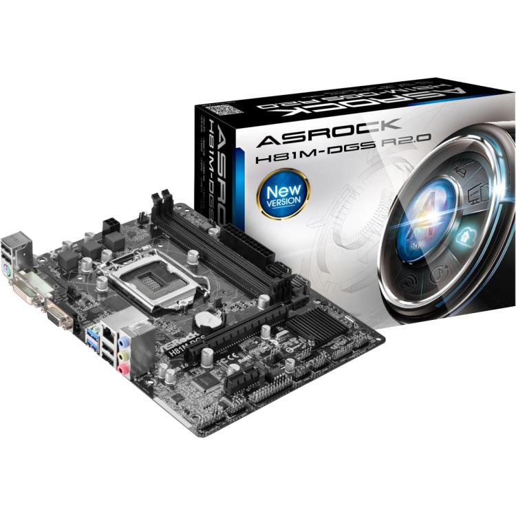 AsRock H81M-DGS R2.0 ATX