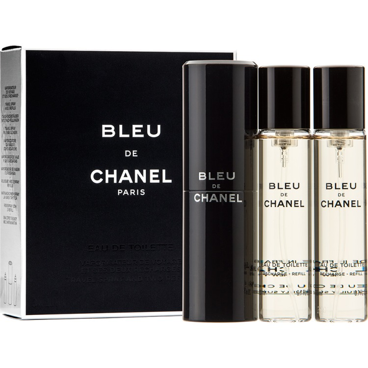Chanel Bleu De Chanel Eau De Toilette Man 3x20ml