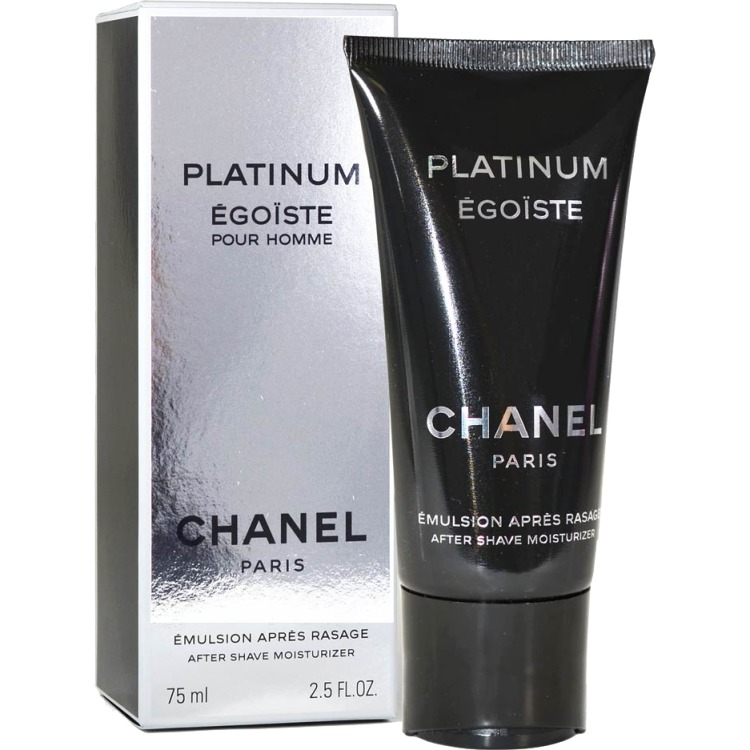 Image of Chanel Platinum Egoiste Pour Homme as moisturizer - 75ml