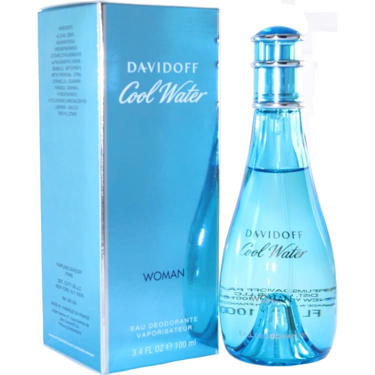 Image of Cool Water Woman Deodorant Spray, 1