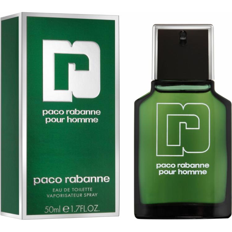 Paco Rabanne Pour Homme Eau De Toilette Vapo 50ml