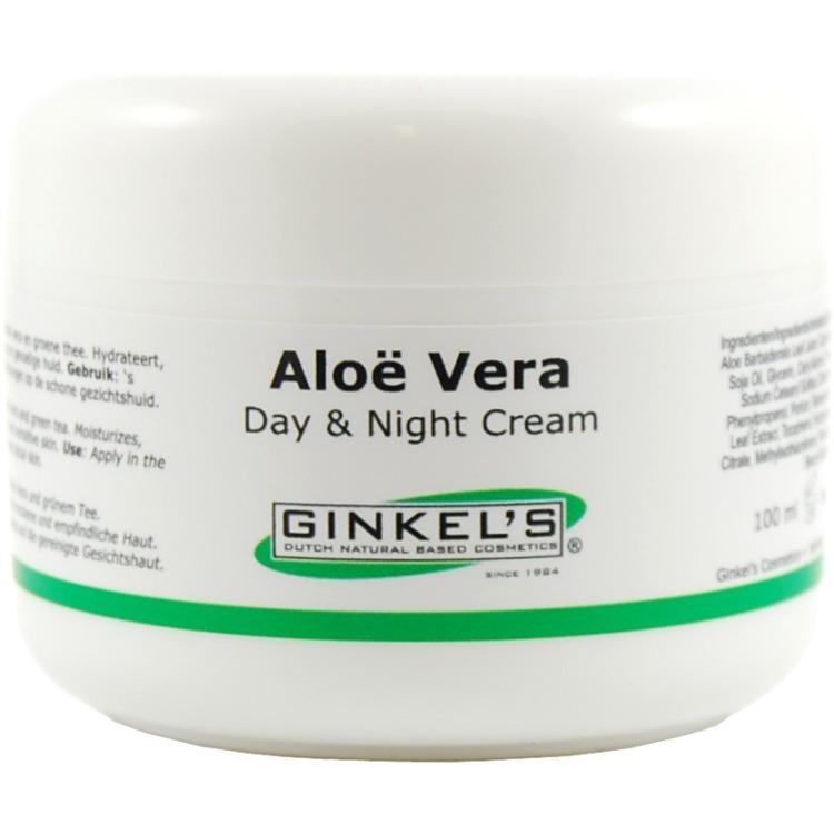 Image of Aloë Vera & Green Tea Dag & Nacht Crème (100 Ml)