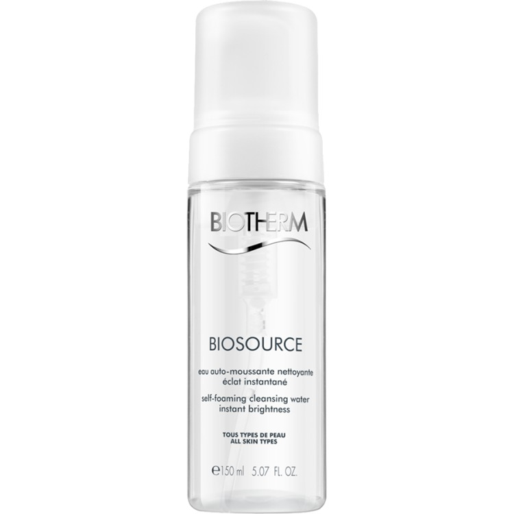 Image of Biosource Self-Foaming Cleansing Wa