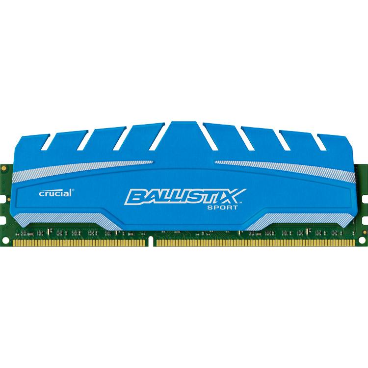 8GB DDR3 1866 MT/s (PC3-12800) CL10 @1.5V Ballistix Sport XT UDIMM 240pin