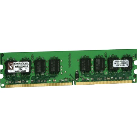 Kingston Technology ValueRAM KVR800D2N6/1G Geheugenmodule - 1 GB / DDR2 / 800 MHz