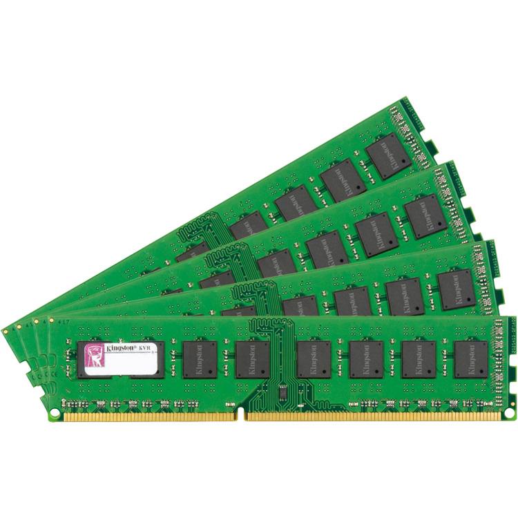 16GB 1600MHz DDR3 ECC Reg CL11 DIMM (Kit of 4) SR x8  w/TS