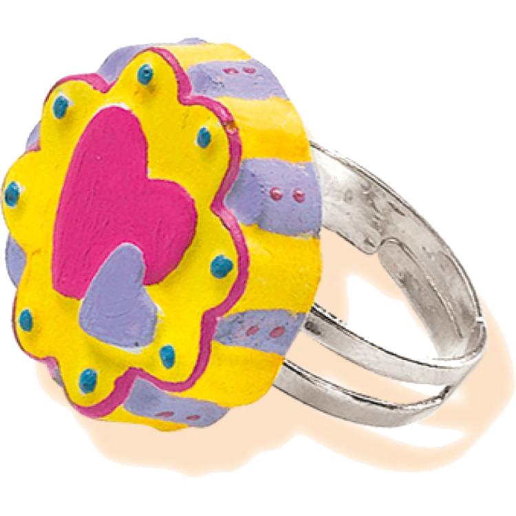 SES Ringen maken van gips
