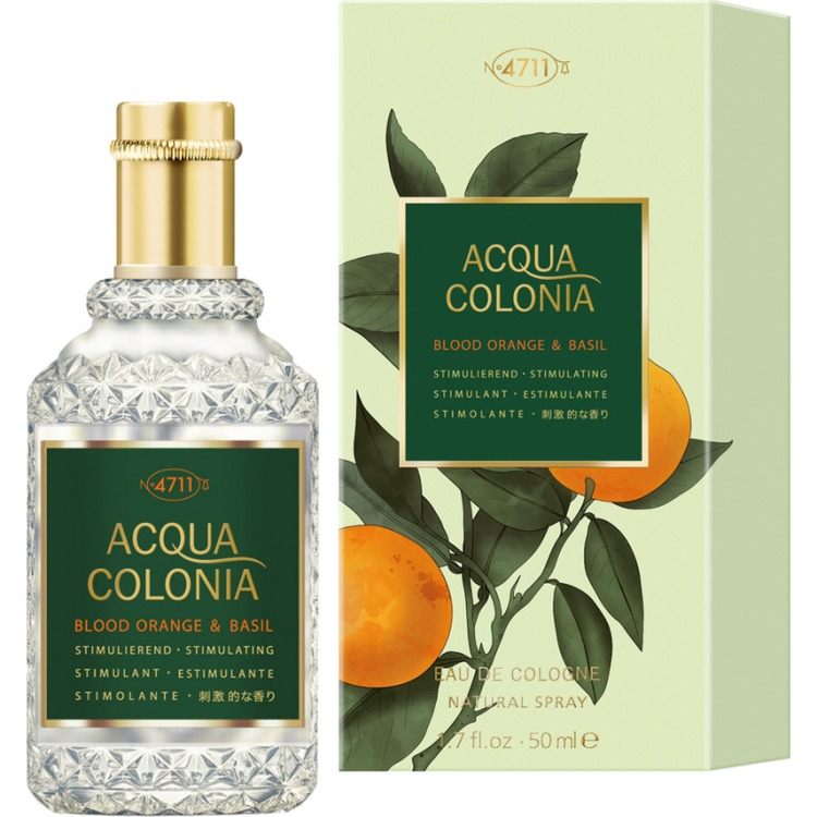 Image of Acqua Colonia Blood Orange & Basil Eau De Cologne Navulbaar, 50 Ml