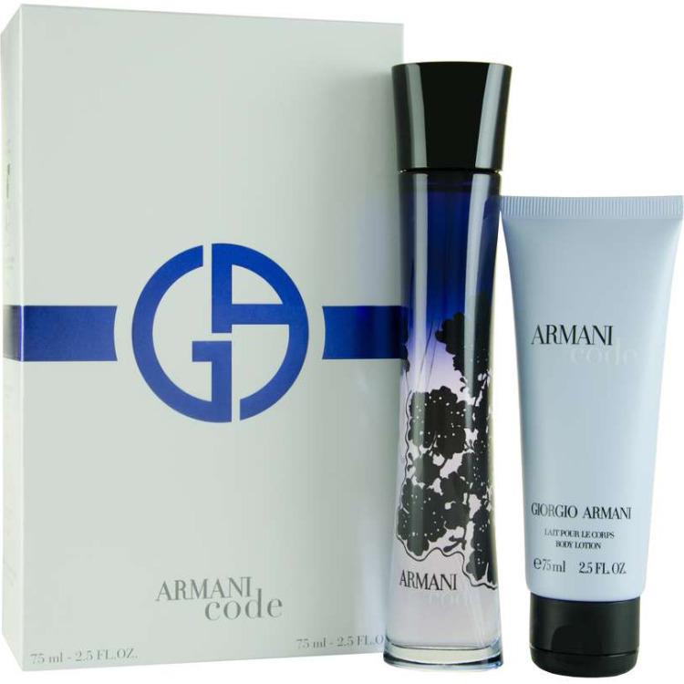 Image of Armani - Code 75ml eau de parfum + 75ml bodylotion Eau de parfum Giftset