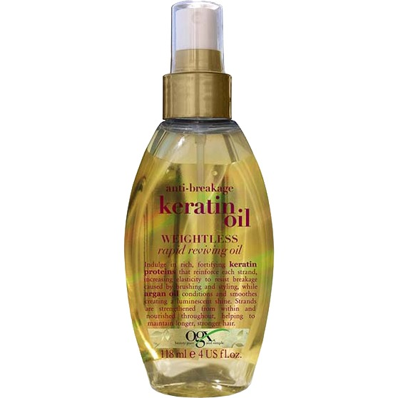 Image of Anti-Breakage Keratin Oil Weightless Oil, 118 Ml