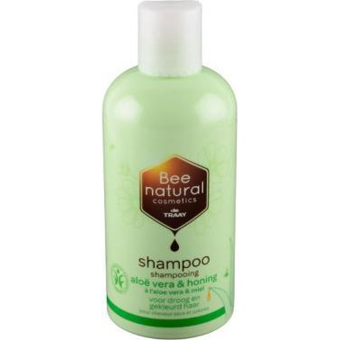 Image of Bee Natural Shampoo Aloë Vera & Honing, 250 Ml