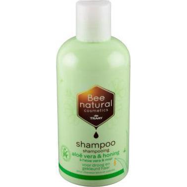 Image of Bee Natural Shampoo Aloë Vera & Honing, 250 Ml