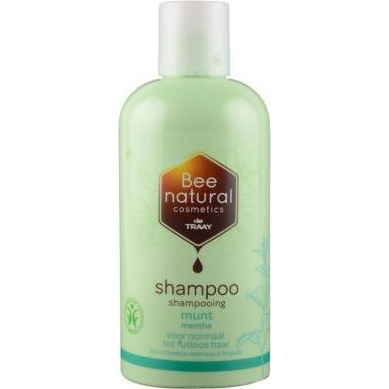 Image of Bee Natural Shampoo Munt, 250 Ml