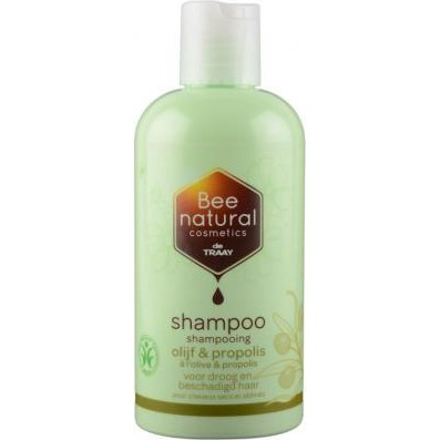 Image of Bee Natural Shampoo Olijf & Propolis, 250 Ml