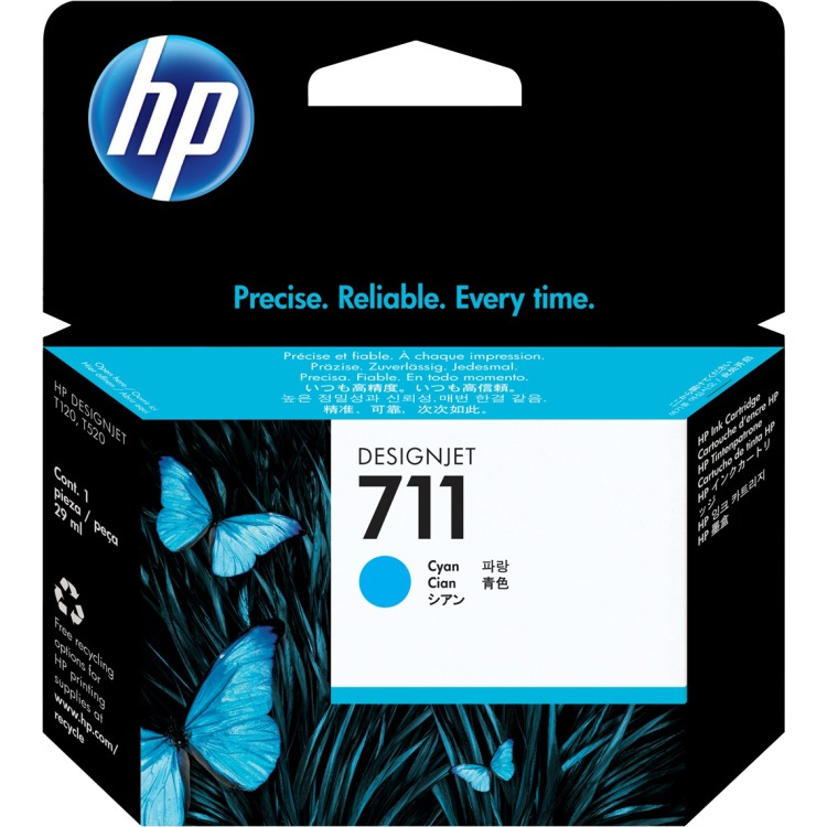HP 711 Ink Cartridge Blauw (cyaan)