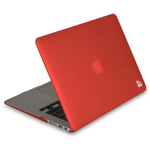 Gecko Covers 'Clip On' hoes voor MacBook Air 13 inch - Rood