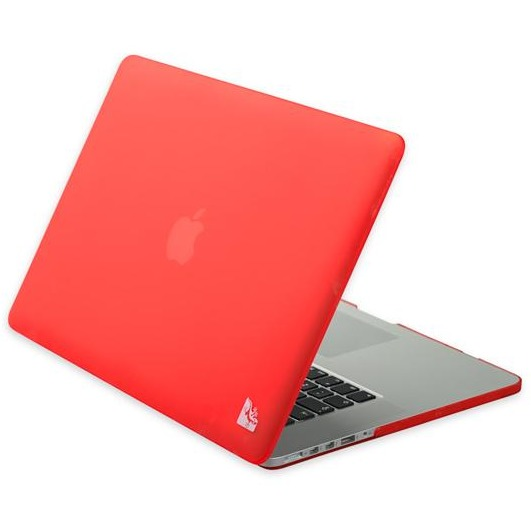 Gecko Covers 'Clip On' hoes voor MacBook Pro 15 inch Retina - Rood