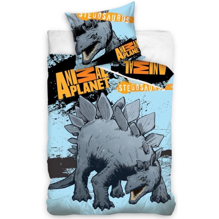 Image of Animal Planet stegosaurus dekbedovertrek 140x200 cm