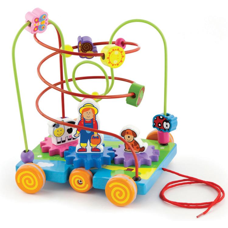 Image of Kralenframe New Classic Toys: Boerd
